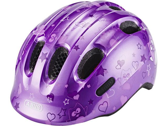 ABUS Smiley 2.0 Helmet purple star